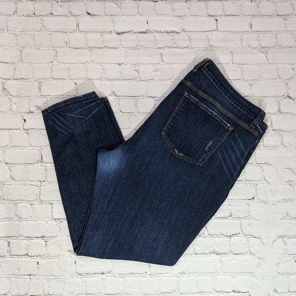 eunina Denim - eunina Classic Skinny Mid Rise Regular Blue Jeans